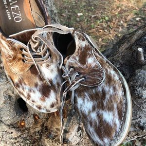 Water Buffalo hand made shoes NEW size 8